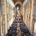 Carol services at Peterborough Cathedral