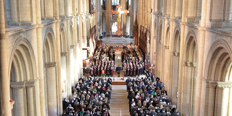 Carol services at Peterborough Cathedral tw